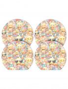 Set di 4 block-notes Emoji™
