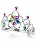 Diadema da principessa multicolore per adulto e bambino