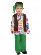 Costume hippie multicolore bébé