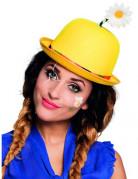 Cappello giallo da clown adulto