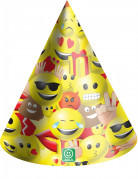 6 cappelli per feste di cartone Imoji™
