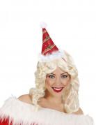 Cappello a punta rosso adulto Natale