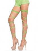 Giarrettiere verdi sexy per donna