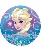 Disco di ostia Elsa Frozen™ 20 cm