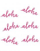 6 decorazioni da tavola Aloha