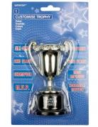 Mini trofeo del vincitore coppa personalizzabile