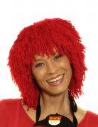 Parrucca in lana rossa per adulti