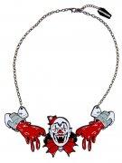 Collana da clown spaventoso per adulto Kreepsville