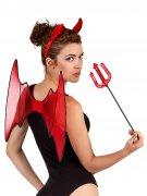 Kit rosso da diavolessa per donna