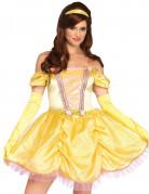 Costume da principessa incantata in giallo per donna