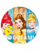 Disco in zucchero colorato Principesse Disney™