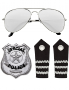 Kit Accessori da Poliziotto per adulto