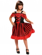 Costume da Ballerina andalusa spagnola per bambina