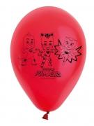8 Palloncini rossi in lattice PJ Mask™