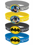 4 Braccialetti elastici Batman™