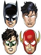 8 Maschere in cartone Justice League™
