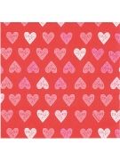 12 Tovaglioli in carta Love You