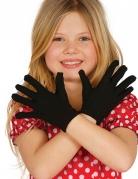 Guanti corti neri per bambino