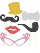 Kit Photobooth glamour 6 pezzi