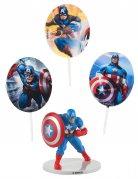 Kit decorazioni per torta Capitan America™