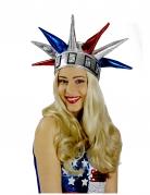 Cappello statua della liberta USA per adulto