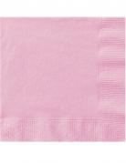 50 Tovaglioli di carta Rosa chiaro
