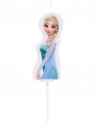 Candela di compleanno 3D Elsa Frozen™ 4.5 cm