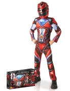 Costume deluxe Power Rangers Rosso™ per bambino