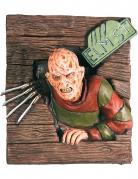 Decorazione da muro in rilievo Freddy Krueger™ 61 x 74 cm