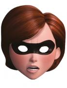 Maschera di cartone Gli Incredibili™ Elastigirl™ adulto