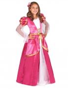Costume da principessa medievale rosa per bambina