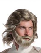 Parrucca e barba Luke Skywalker The Last Jedi™ adulto