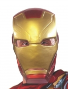 Mezza Maschera Iron Man Captain America Civil War™ adulto