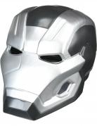 Maschera 2 pezzi War Machine Capitan America Civil War™ adulto
