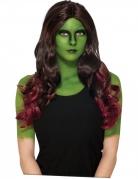 Parrucca Gamora I guardiani della Galassia 2™ per Adulto