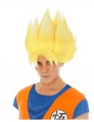 Parrucca bionda Goku Saiyan Dragon Ball Z™ adulto