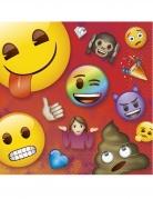 16 Tovaglioli in carta Emoji Rainbow™
