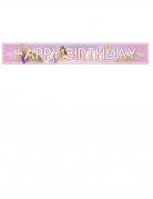 Striscione Happy Birthday Principesse Disney™