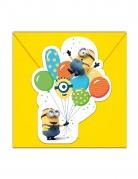 6 Inviti con busta Minions™