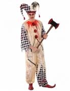 Costume giullare insanguinato adolescente