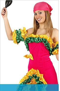 Costumi flamenco e latino