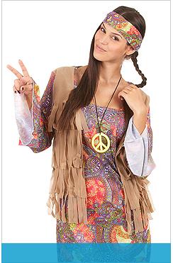 Costumi e addobbi Hippie