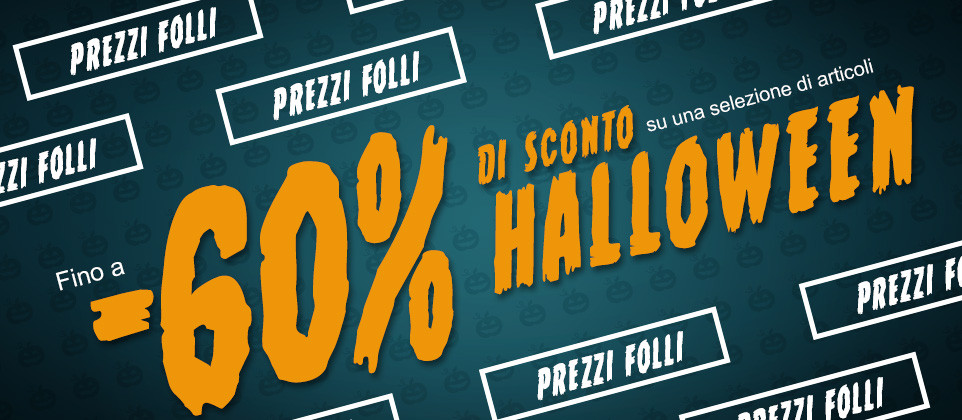 Travestimenti e accessori Halloween scontati